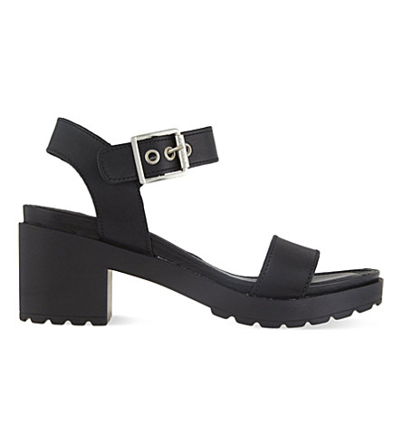 CARVELA Karina block heeled sandals (Black