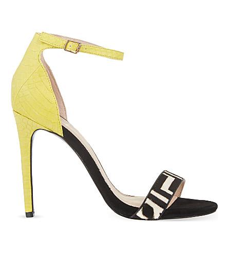 KG KURT GEIGER Joy heeled sandals (Yellow