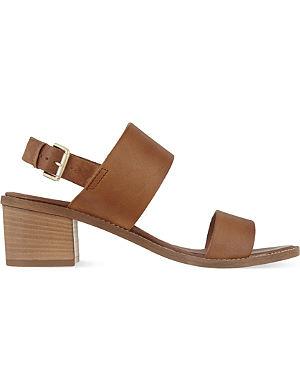 CARVELA Kimberley block heeled sandals