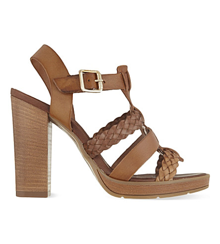 CARVELA Krill heeled sandals (Tan