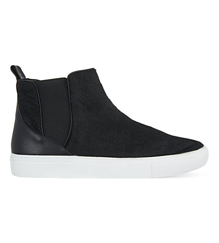 KG KURT GEIGER Luxembourg high-top trainers (Black
