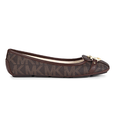 MICHAEL MICHAEL KORS Fulton Moc pumps (Brown