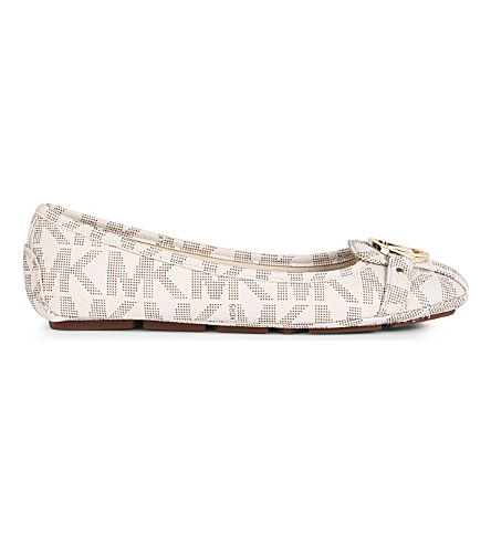 MICHAEL MICHAEL KORS Fulton Moc pumps (Cream