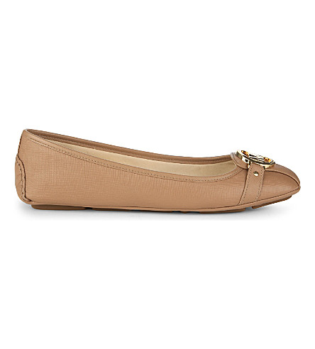 MICHAEL MICHAEL KORS Fulton leather moccasins (Taupe
