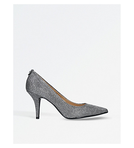 MICHAEL MICHAEL KORS Flex metallic courts (Gunmetal