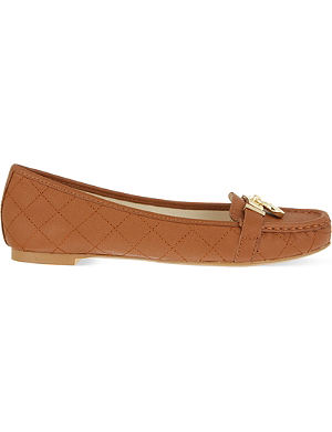 MICHAEL MICHAEL KORS Hamilton leather loafers