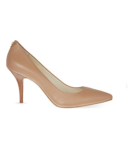 MICHAEL MICHAEL KORS Flex leather courts (Taupe