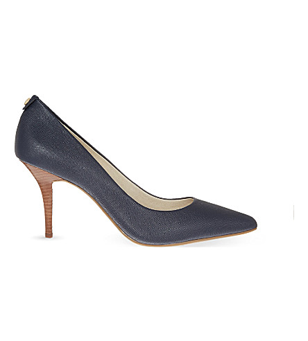 MICHAEL MICHAEL KORS Flex leather courts (Navy