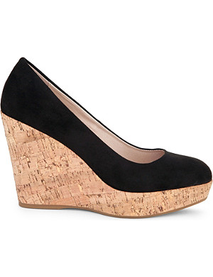 CARVELA Attend wedge heeled court shoes