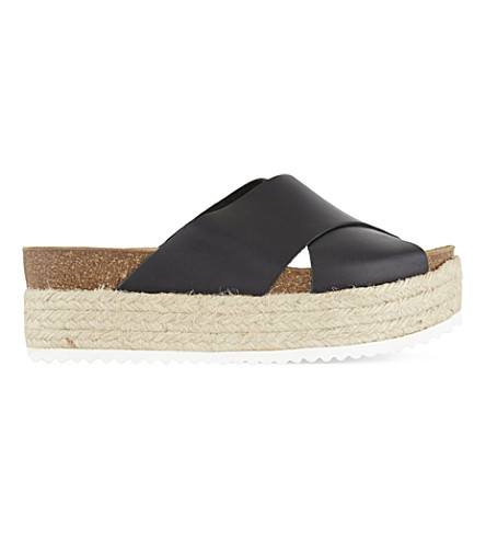 CARVELA Kool platform sandals (Black