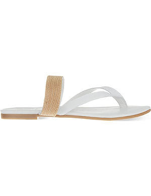 KG BY KURT GEIGER Mae leather sandals