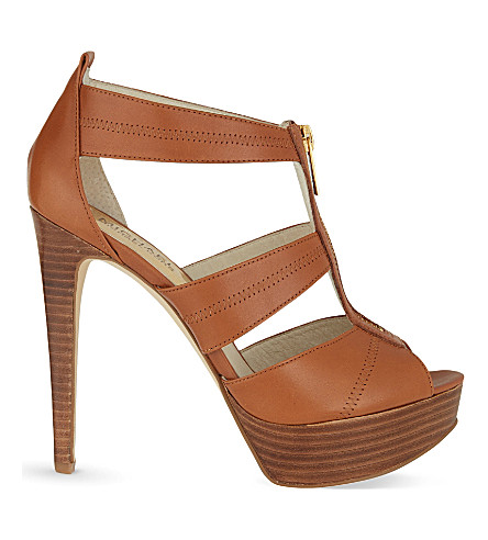 MICHAEL MICHAEL KORS Berkley platform sandals (Brown