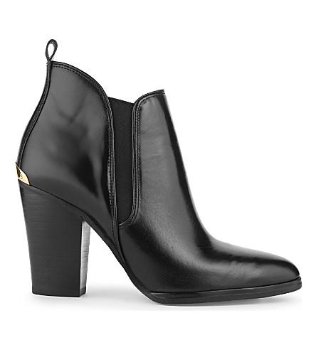 MICHAEL MICHAEL KORS Brandy leather ankle boots (Black