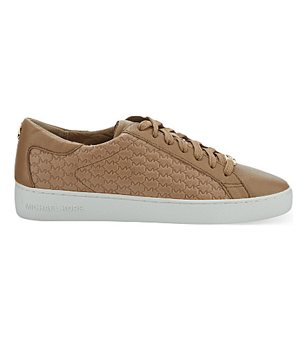 MICHAEL MICHAEL KORS Colby monogramme trainers (Khaki