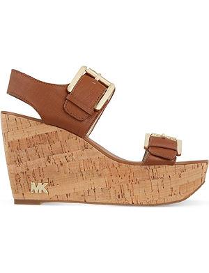 MICHAEL MICHAEL KORS Warren wedge sandals