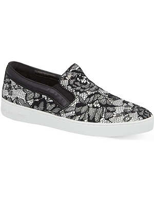 MICHAEL MICHAEL KORS Phillipa floral lace trainers
