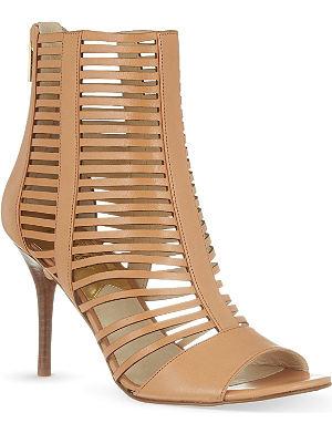 MICHAEL MICHAEL KORS Odelia peep-toe heeled booties