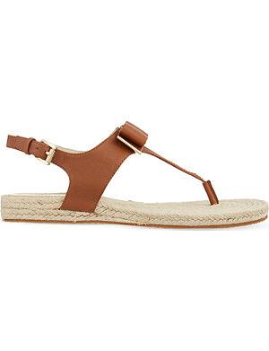 MICHAEL MICHAEL KORS Meg espadrille thong sandals