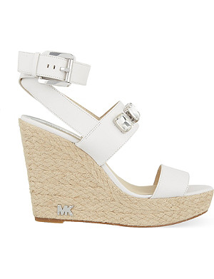 MICHAEL MICHAEL KORS Lynn wedge espadrille sandals