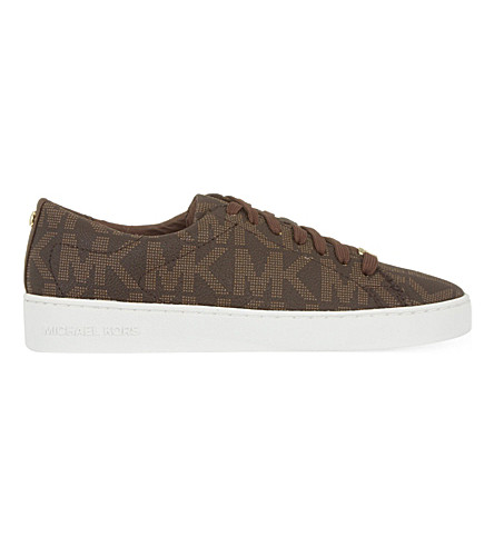MICHAEL MICHAEL KORS Keaton trainers (Brown