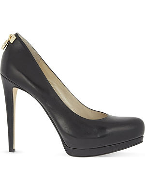 MICHAEL MICHAEL KORS Hamilton leather stiletto pumps