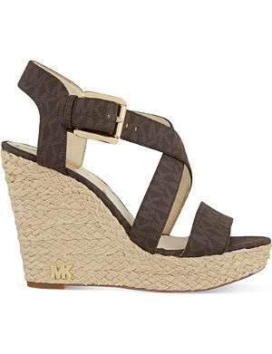 MICHAEL MICHAEL KORS Giovanna wedge sandals