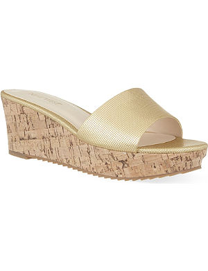 NINE WEST Confetty3 wedge sandals