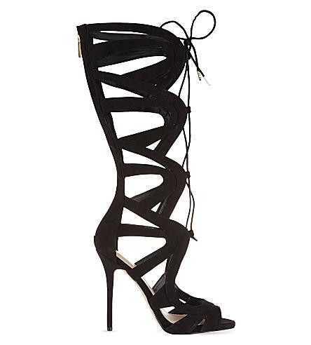 CARVELA Gylda2 knee-high heeled sandals (Black