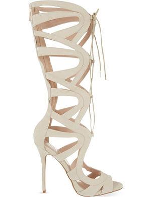 CARVELA Gylda 2 knee-high heeled sandals