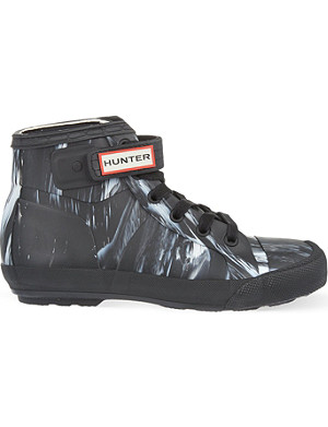 HUNTER Original Nightfall high-top trainers