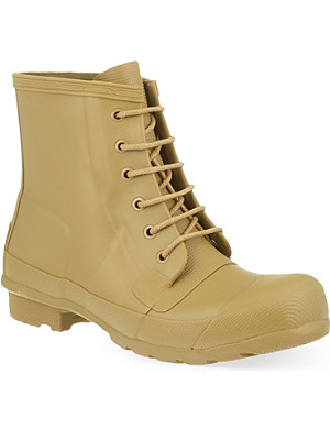 HUNTER Original lace up wellie boots