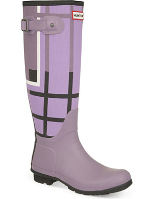HUNTER Original Tall Tartan wellies