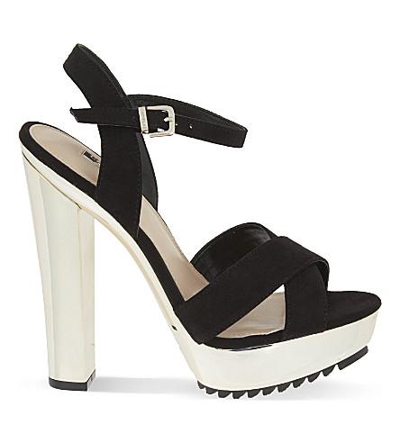CARVELA Gone platform heeled sandals (Black