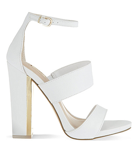 CARVELA Gossip high-heeled sandals (White