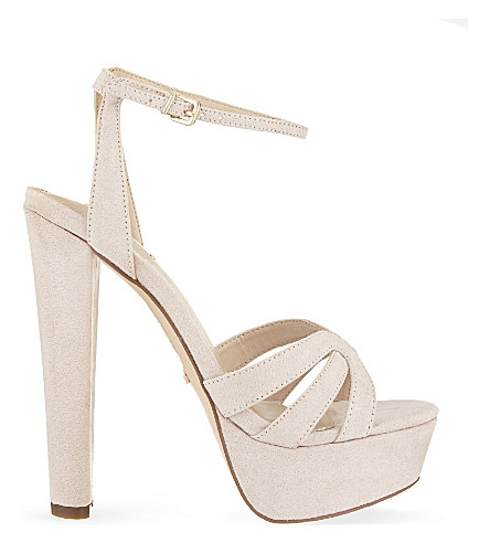 CARVELA Gemma heeled sandals (Nude