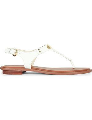 MICHAEL MICHAEL KORS Logo plaque sandal