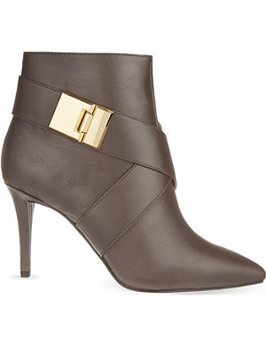 NINE WEST Palencia leather ankle boots