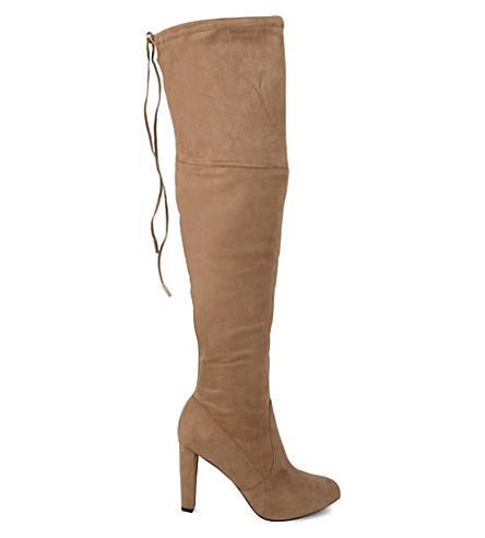 CARVELA Sammy high heel over the knee boots (Taupe