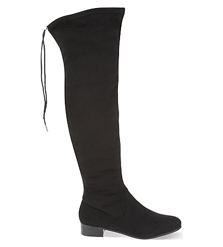 CARVELA Supper over the knee boots (Black