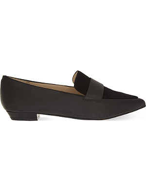 NINE WEST Truethat3 patent slippers