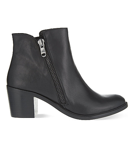 CARVELA Skim leather ankle boots (Black