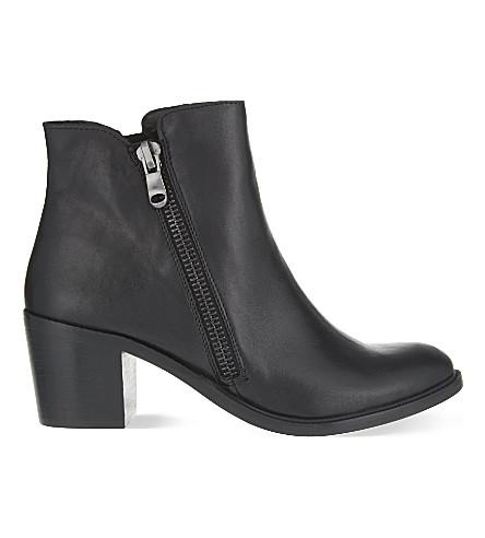 CARVELA Skim leather ankle boots (Black