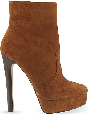 CARVELA Sizzle suede heeled ankle boots