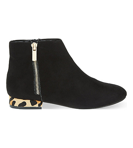 MISS KG Soho suedette ankle boots (Black