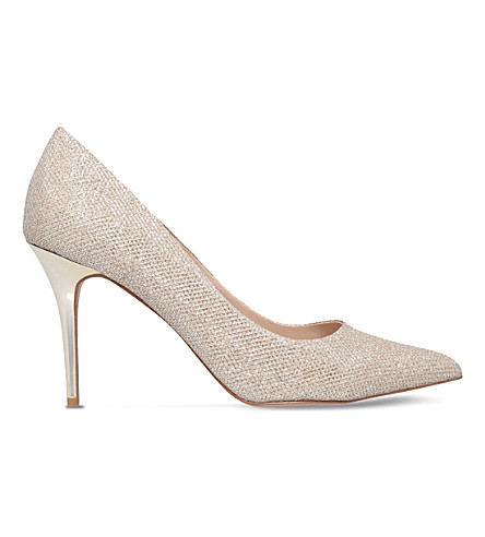 CARVELA Goalie shimmer courts (Gold