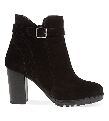 CARVELA Support suede ankle boots (Black