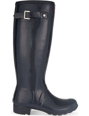 HUNTER Original Tour gloss wellies