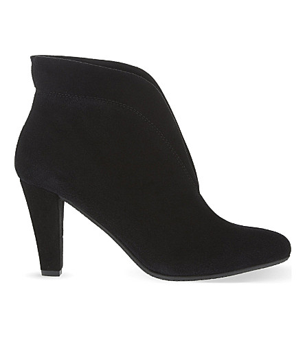 CARVELA COMFORT Rida suede ankle boots (Black