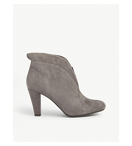 CARVELA COMFORT Rida suede ankle boots (Grey
