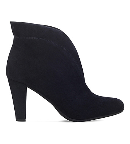 CARVELA COMFORT Rida suede ankle boots (Navy